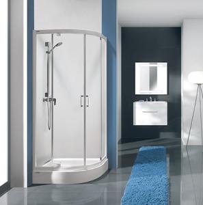Sanplast KP2DJa/TX5b nyílóajtós zuhanykabin (2db kifelé nyíló ajtóval)