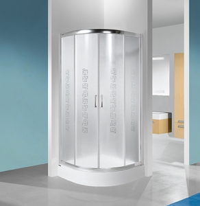 Sanplast KP4/TX4b W14 zuhanykabin (tolóajtós) tálca nélkül.
