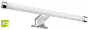 AQUALINE KRONAS LED világítás, 6W, 400x40x100mm, króm