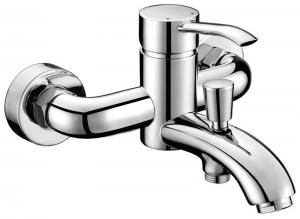 Luka kádtöltő csaptelep zuhanyszett nélkül, króm (LK10)
