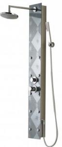 Sanotechnik MARSEILLE zuhanypanel,mintás üveg
