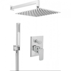 Deante AZALIA falsík alatti szett-zuhanyrendszer+váltóegység