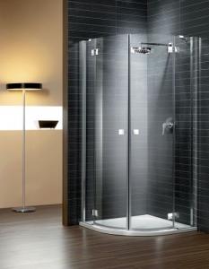Radaway Almatea PDD íves aszimmetrikus két nyílóajtós zuhanykabin