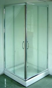 Sanotechnik króm szögletes zuhanyzó
