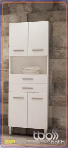 Tboss TREND/TRENTO Álló nyitott 2 fiókos kiegészítő fürdőszoba bútor