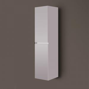 Wellis Elois függesztett magas szekrény, forgatható nyitásirányú nyílóajtókkal