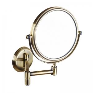 BEMETA RETRO Kozmetikai tükör, 184x200x412mm, átm:133mm, bronz (106101697) (XP012)