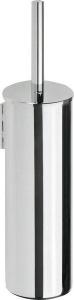 BEMETA OMEGA WC kefetartó álló vagy falra szerelhető, fehér kefe, 95x380x105mm, króm (102313066) (XR304)