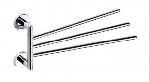 BEMETA OMEGA Mozgatható törölközőtartó, 55x195x450mm, króm (104204112) (XR407)