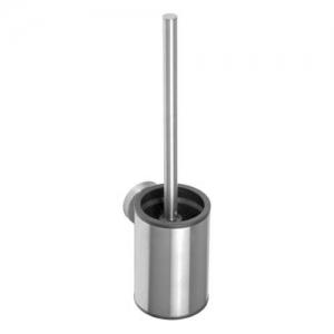 BEMETA NEO Fali WC kefetartó, fekete kefe, 90x380x115mm, inox/matt (102313079) (XS305)