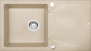 Evora 1 medencés mosogató csepegtetővel - homok ZQJ 7113