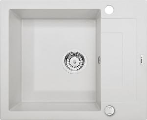 Rapido  1 medencés mosogató rövid csepegtetővel - alabástrom ZQK A11A