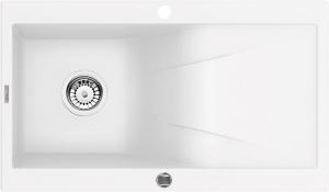 Rapsodia  1 medencés mosogató csepegtetővel - alabástrom ZQR A113