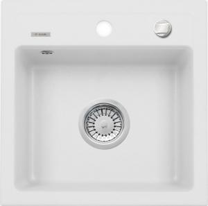 Zorba 1 medencés mosogató csepegtető nélkül - alabástrom ZQZ A103