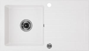Zorba 1 medencés mosogató csepegtetővel - alabástrom ZQZ A113
