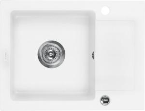 Zorba 1 medencés mosogató rövid csepegtetővel - alabástrom ZQZ A11A