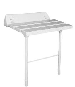 RIDDER Ülőke zuhanyzóba, összecsukható, fehér