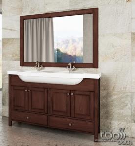 Tboss Toscana 130 komplett fürdőszobai bútor