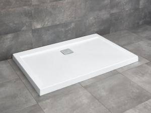 Radaway Argos D szögletes lapos akríl zuhanytálca