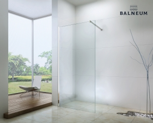 Balneum Royal Walk-in átlátszó zuhanyfal