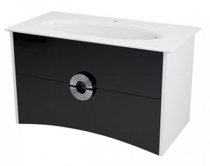 Sapho AVEO mosdótartó szekrény 94x58x49cm, fehér