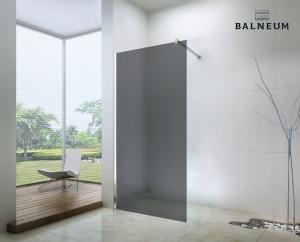 Balneum Royal Walk-in zuhanyfal füst üveggel füst üveggel