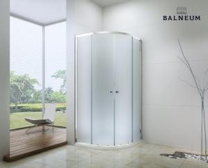Balneum Royal  íves zuhanykabin 6mm-es nano vízlepergető matt üveggel