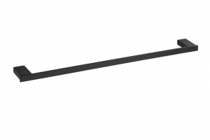 BEMETA NERO Törölközőtartó, 600x20x59mm, fekete (135004040)