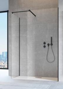 Radaway Modo New Black III ( 3 részből álló ) walk-in zuhanyfal