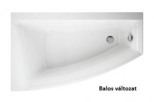Cersanit Virgo Max aszimmetrikus kád