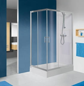 Sanplast KN/TX5b aszimmetrikus zuhanykabin (tolóajtós)