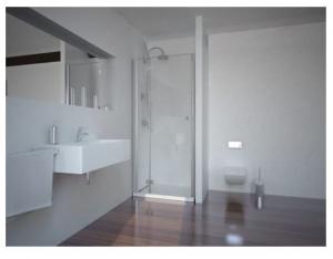 Sanotechnik Smartflex egy nyíló ajtós zuhanyajtó
