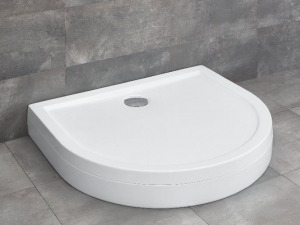 Radaway Delos P zuhanytálca lábbal,levehető előlappal