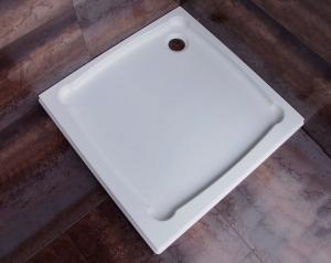 Diona szögletes öntött márvány zuhanytálca