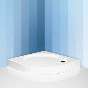 Roltechnik - Sanipro Dream P íves zuhanytálca szifonnal - KIÁRUSÍTÁS