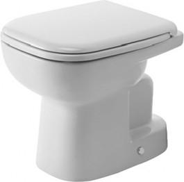 Duravit, D-Code álló WC, mélyöbítés, alsó kifolyás