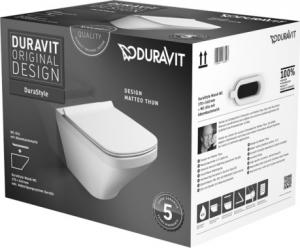 Duravit Durastyle fali wc-szett, ülőkével
