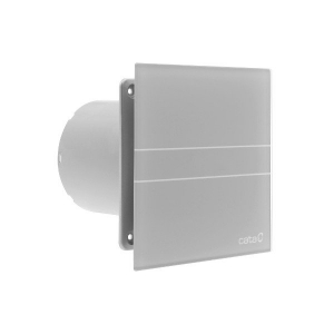 CATA E-100 GTS ventilátor, 8W, időzítővel, o100mm, ezüst (00900500)
