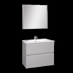 Wellis ELOIS Grey 60 bútor szett / bútor+mosdó+tükör /