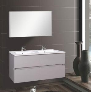 Wellis ELOIS Grey 120 bútor szett / bútor+mosdó+tükör /