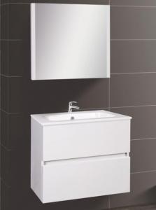 Wellis ELOIS White 60 bútor szett / bútor+mosdó+tükör /