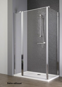 Radaway EOS II KDJ Aszimmetrikus zuhanykabin