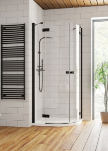 Radaway Essenza New Black PDD zuhanykabin