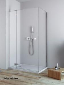 Radaway Fuenta New KDJ aszimmetrikus nyílóajtós zuhanykabin