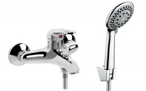 Funika kádtöltő csaptelep zuhanyszettel