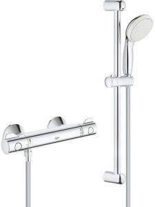 GROHE Grohtherm 800 termosztatikus zuhanycsaptelep szettel