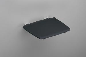 GELCO Lehajtható ülőke zuhanyzóba, 32,5x32,5cm, max:120kg, sötét szürke