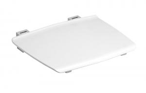 GELCO Lehajtható ülőke zuhanyzóba, 32,5x32,5 cm, max. terhelés 120 kg, fehér