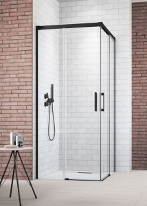 Radaway Idea Black KDD zuhanykabin