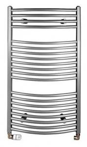 AQUALINE Fürdőszobai radiátor, íves 970